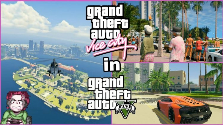 How to Install GTA Vice City MAP In GTA 5 – New 2018 MOD
