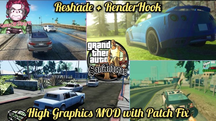 Install [GTA San Andreas] RenderHook + Reshade High Graphics